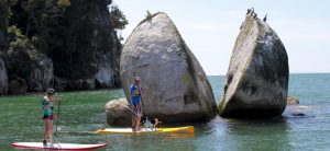 Abel Tasman Marahau Stand Up Paddleboarding New Zealand